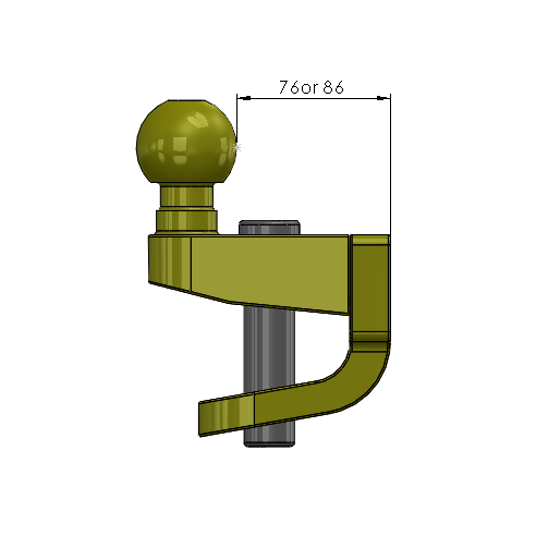 ball and pin hitch